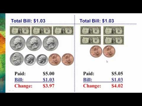 Making Change with Odd Amounts of Money