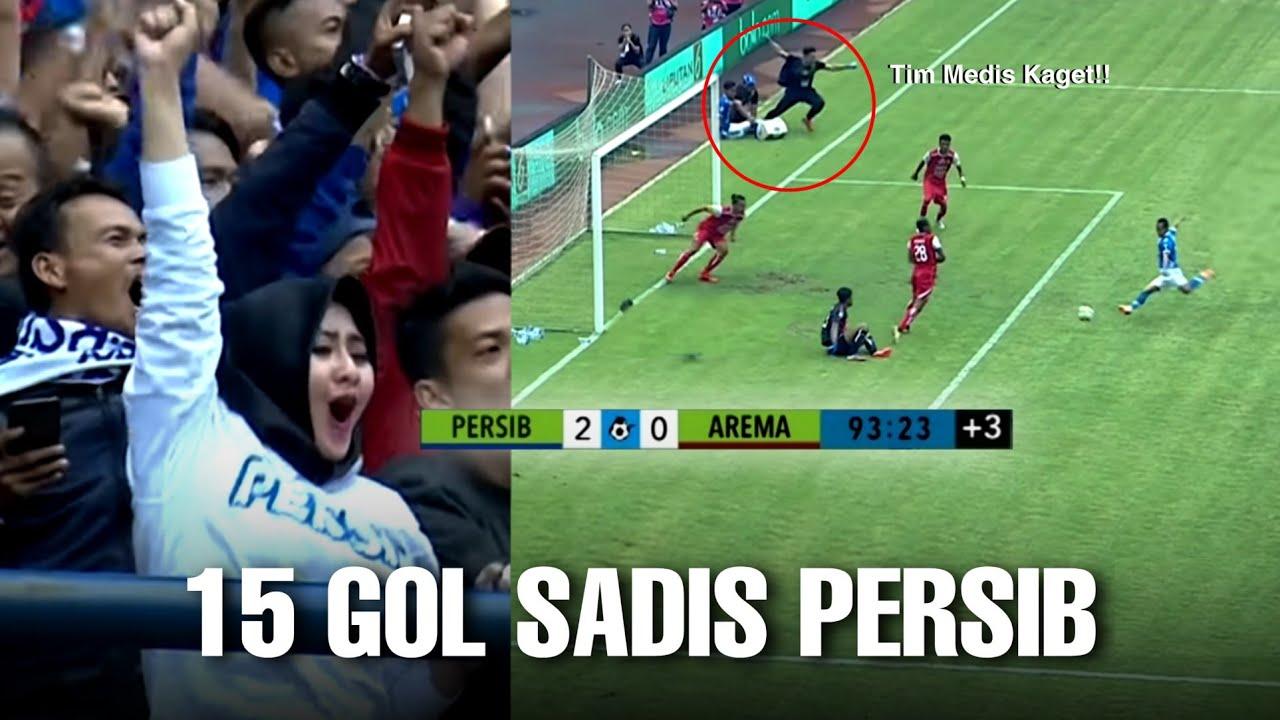 MERINDING !! Momen 15 Gol Terbaik Persib Bandung ke Tim Raksasa Indonesia Sepanjang Sejarah Liga 1