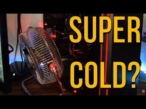 Using a House Fan To Cool My PC?!