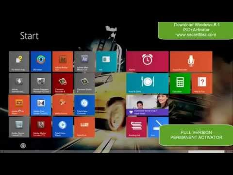 ✔✔Windows 8.1 PRO FULL Preactivated + Crack Only {FEB 2014 Update}✔✔
