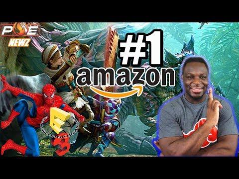 Monster Hunter Gen. Ultimate Already Hits #1 on Amazon Sales! Sony E3 Direct! | PE NewZ