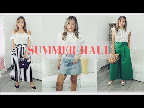 SUMMER TRY-ON HAUL 2018 | ZARA, H&M, TOPSHOP | La Vie en Chic