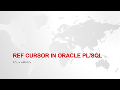 REF CURSOR AND SYS_REFCURSOR IN ORACLE PL/SQL WITH EXAMPLE