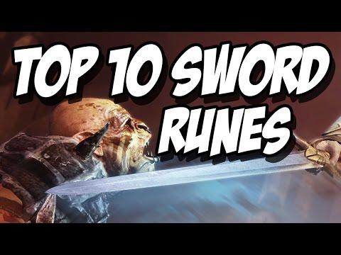 Shadow of Mordor - Top 10 Sword Runes!