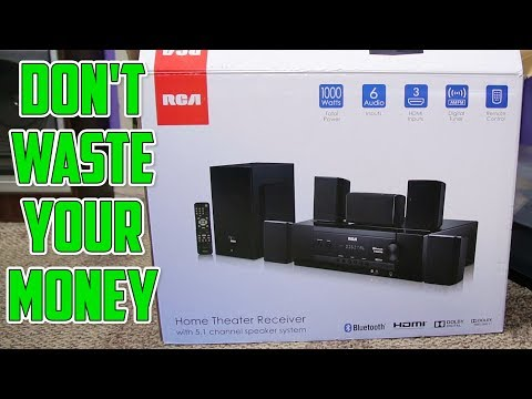 RCA 1000W Home Theater System Review | DO NOT BUY WITHOUT WATCHING