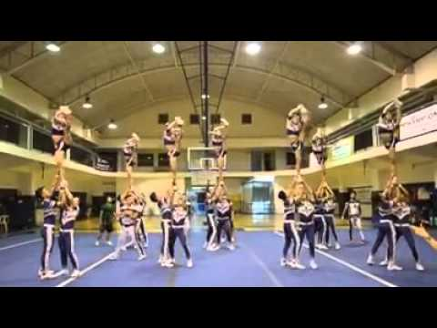 National-U Pep Squad Show off performance for NCC NCR Qualifiers