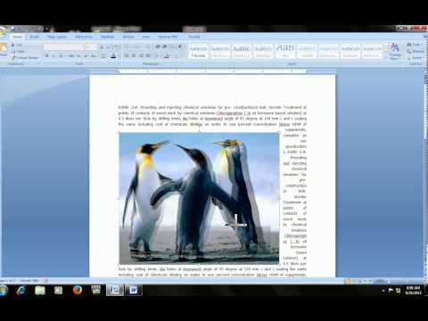 Microsoft word 2007 & 2003: how to crop, wrap, washout & edit image