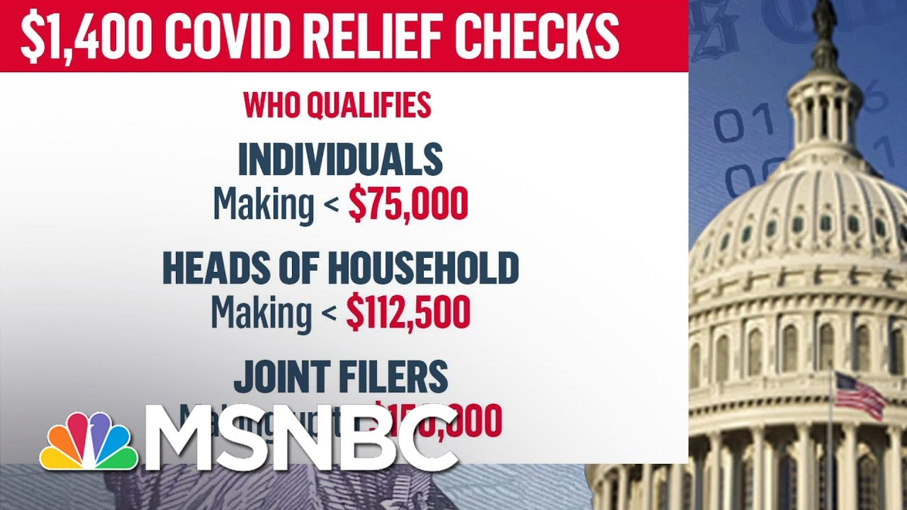 Examining Eligibility For Third Round of Stimulus Checks After Senate Passes Covid Relief Bill