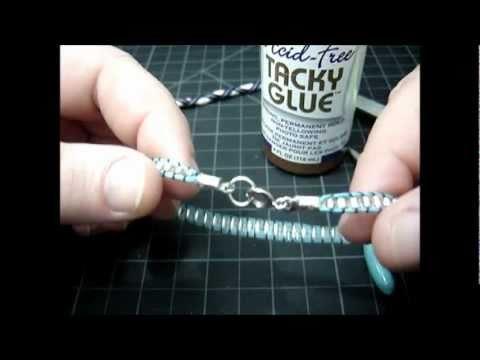 ♦  Friendship Bracelets - How To Add Crimp Ends & Clasps