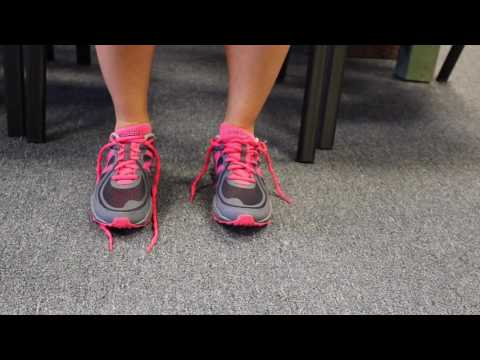 Lacing Your Shoes to Prevent Heel Slippage