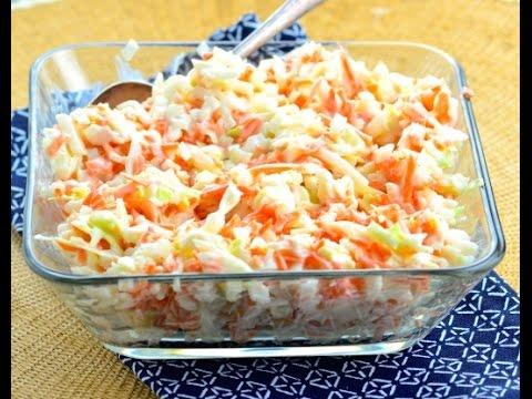 how to make coleslaw like kfc