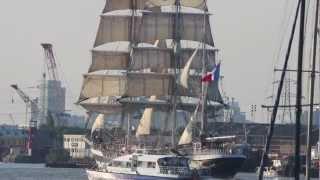 Ship video - French tall ship
