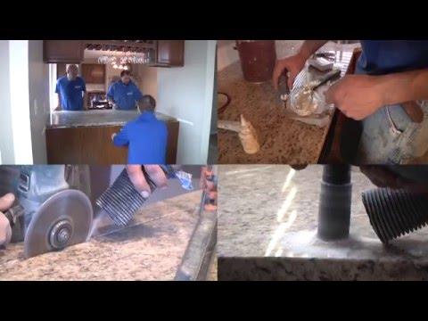 Granite Countertop Installation Video 4