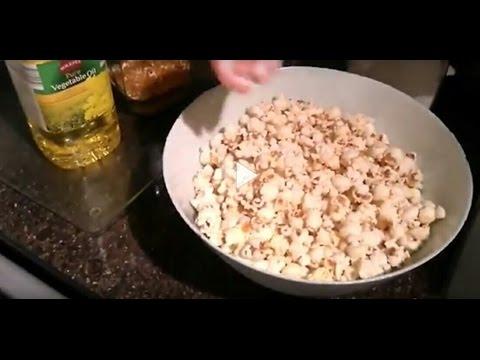 My Easy Stove - Homemade Sweet Popcorn
