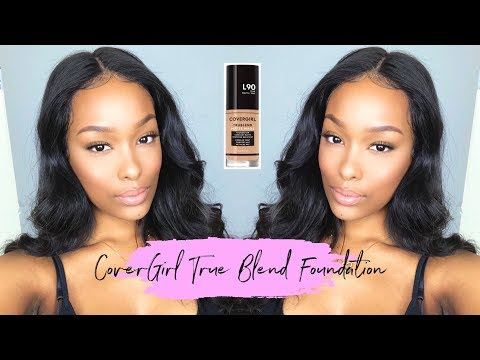 First Impression! ft. Covergirl True Blend Foundation | FabulousBre