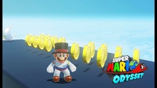 Super Mario Odyssey | Fast Coin Earning Techniques [360 Coins In 2 Min]