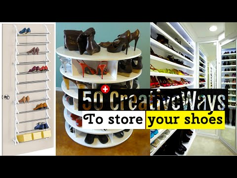50+ Creative Shoe storage ideas