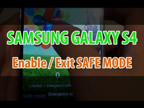 Samsung Galaxy S4: How to Go Into SAFE MODE