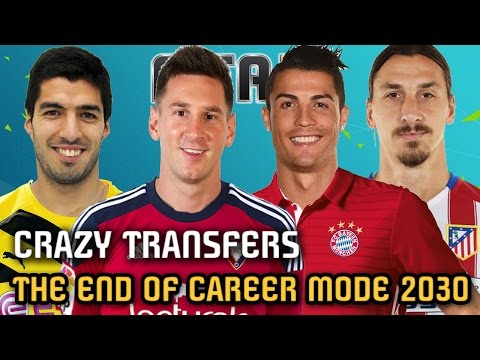 THE END OF CAREER MODE 2030 - FIFA 16 (All Best Teams, Players and Regens)