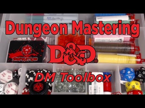 Dungeon Mastering - Dungeon Master Toolbox - Crit Games
