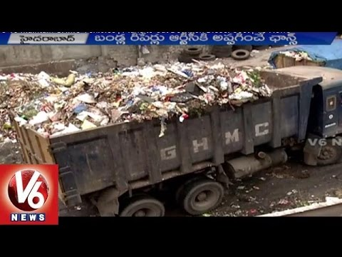 RTC To Maintain GHMC Vehicles | Plans To Cut Down On Diesel Cost | V6 News