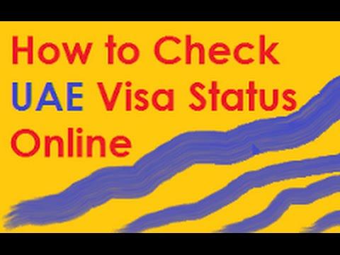 How To Check Visa Application Status Dubai In Hindi/Urdu