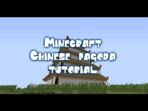 Minecraft Chinese pagoda tutorial [PART 1]