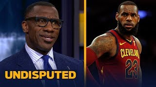 Shannon Sharpe challenges LeBron