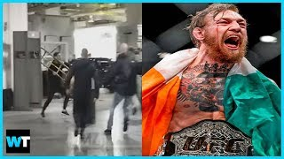 Conor McGregor LOSES IT on UFC Bus To Avenge His Friend! | What