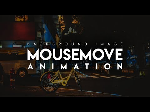 MouseMove Animation | HTML, CSS & JQuery