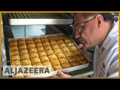 The art of making baklava