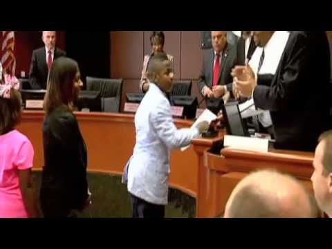 Beaumont student honored for anti-violence essay