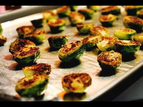 How to Cook Brussel Sprouts in the Oven | Recipe for Roasted Brussel Sprouts