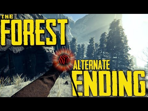 The Forest | Alternate Ending | THE CHOICE IS YOURS!! (Full Release)