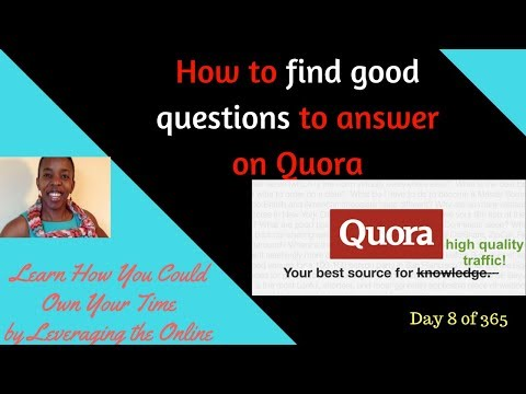How to find good questions to answer on Quora - tutorial |Step by Step Guide/ Walkthrough of Quora