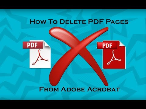 How To Delete Pages From PDF In Adobe Reader