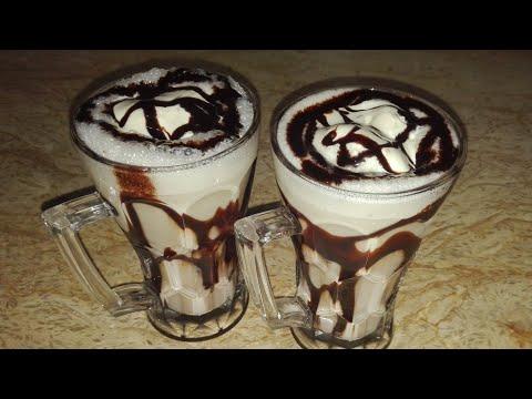 COLD COFFEE with ICE CREAM (Iced Coffee)