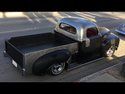 1954 Studebaker 3R5 Pickup Chop Top Truck Build Project