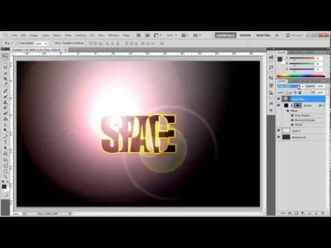 How to Make Overlapping Text in Photoshop