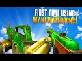 FIRST TIME USING THE PPSH AND M16 Black Ops 3 New Weapons Gameplay amp Funny Moments MatMicMar