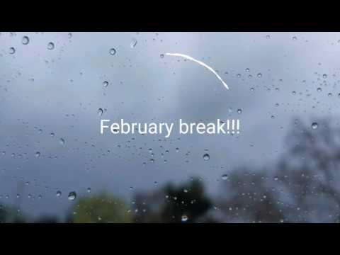 February break 2017