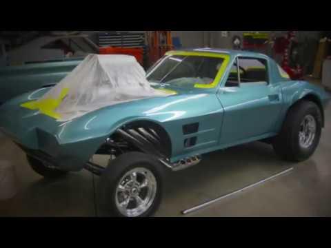 1963 Corvette Stingray GASSER! Full build!
