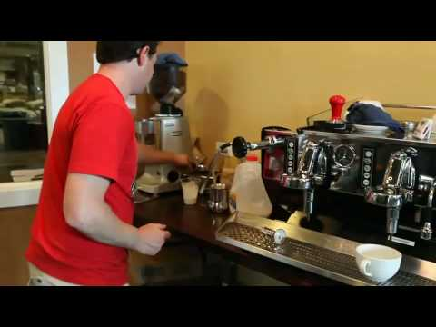 Iced Caffe Latte Method of Production