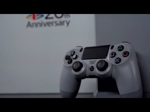 Sony PlayStation 4 20th Anniversary Edition. Распаковка и обзор.