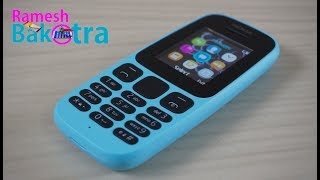 Nokia 105 2017 Full Review and Unboxing