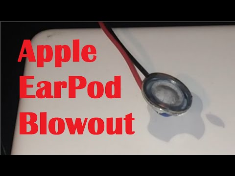Apple EarPod blowout