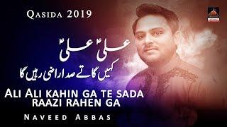 Qasida Mola Ali - Ali Ali Kahin Ga Te Sada Raazi Rahen Ga - Naveed Abbas - 2019