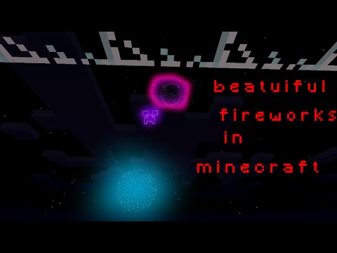 Fireworks Battery - Minecraft