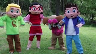Elsa and Romeo PJ MASKS Love Potion In Real Life, Frozen, Paw Patrol, Trolls, Peppa Pig IRL