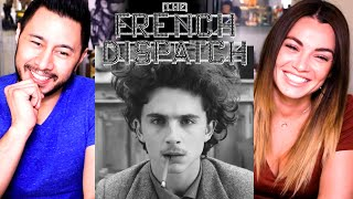 THE FRENCH DISPATCH   Timothée Chalamet   Saoirse Ronan   Elisabeth Moss   Trailer Reaction